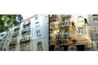 Pintura de Fachada de Edifício em Lisboa